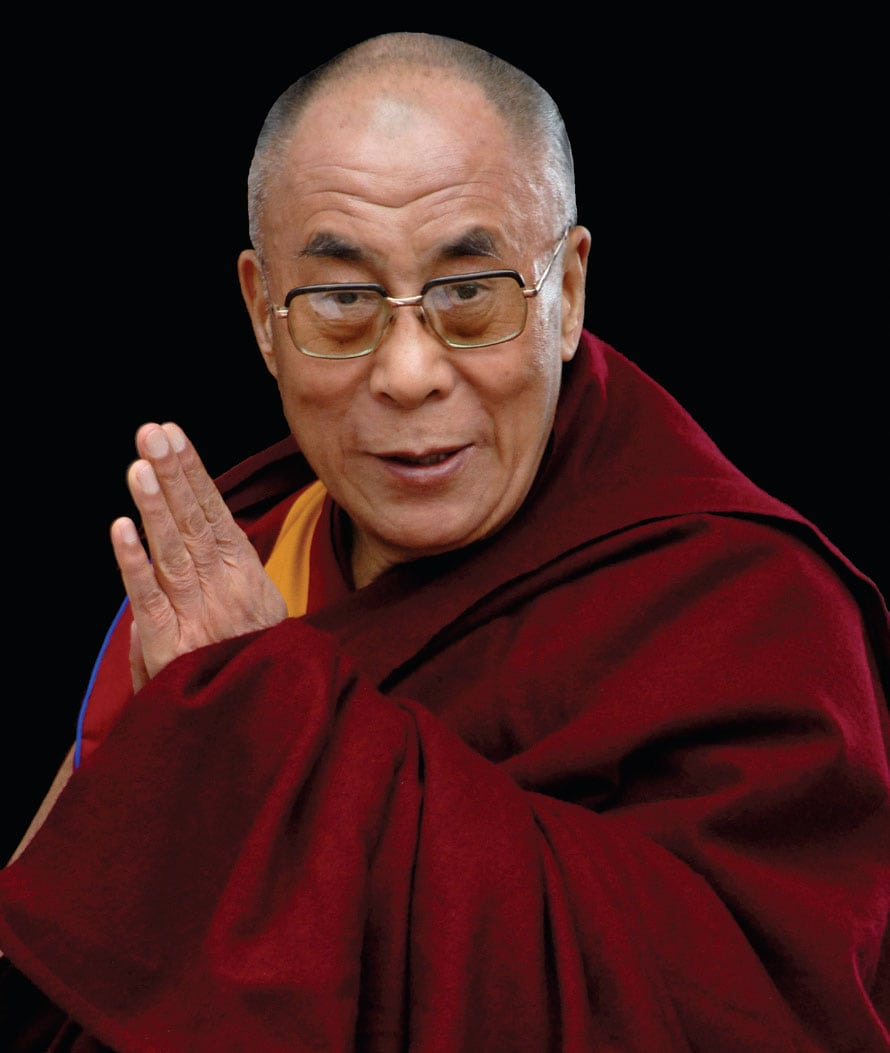 20 Rules to Live By from the Dalai Lama that lead to a happy